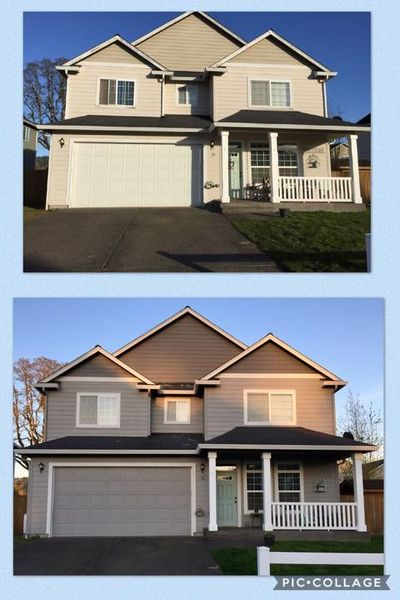Before & After Exterior Painting in Vancouver, WA (1)