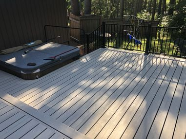 Before and After Deck Painting in Camas, WA (4)