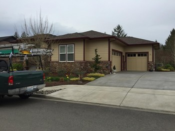 After Exterior Painting of Trim in Ridgefield, WA